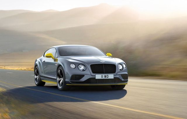 Introducing The New Continental GT Speed, The Fastest Production Bentley  Ever With A Top Speed Of 206 Mph Km/h) Colour Spec: The New Black Edition  ...