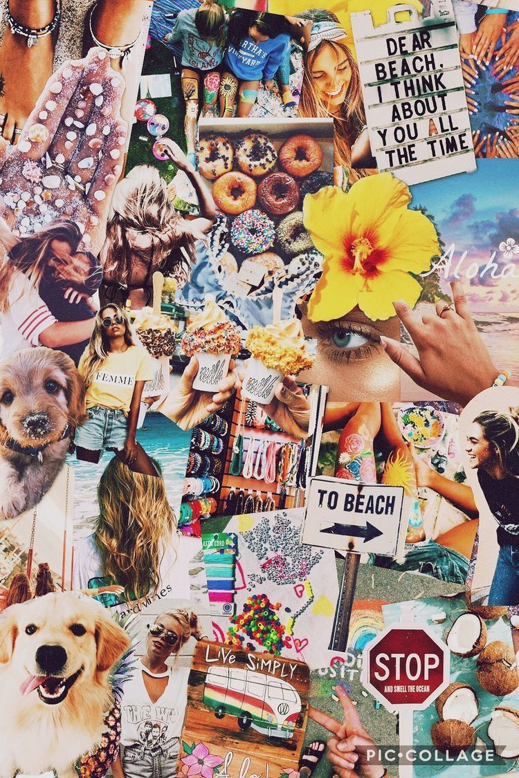 Pin by caraline on collages Collage background, Cute