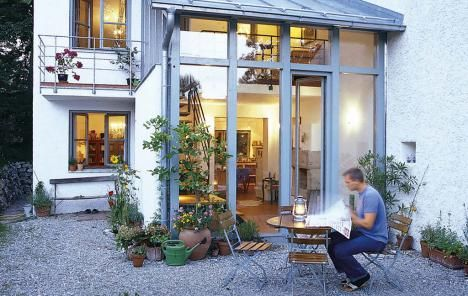 Ber generationen haus als altersvorsorge altbau hausideen so wollen wir bauen haus - Wintergarten reihenhaus ...