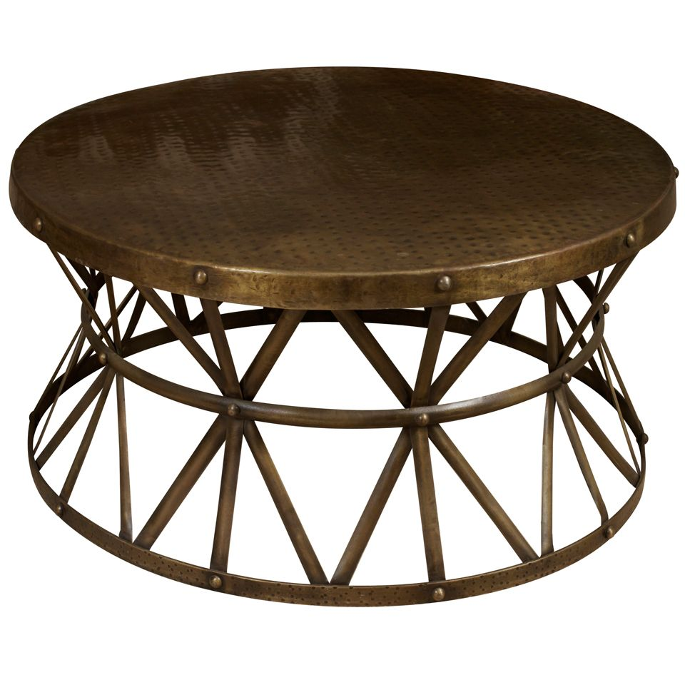 1stdibs a round metal coffee table with images metal on stunning wooden metal coffee table id=58041