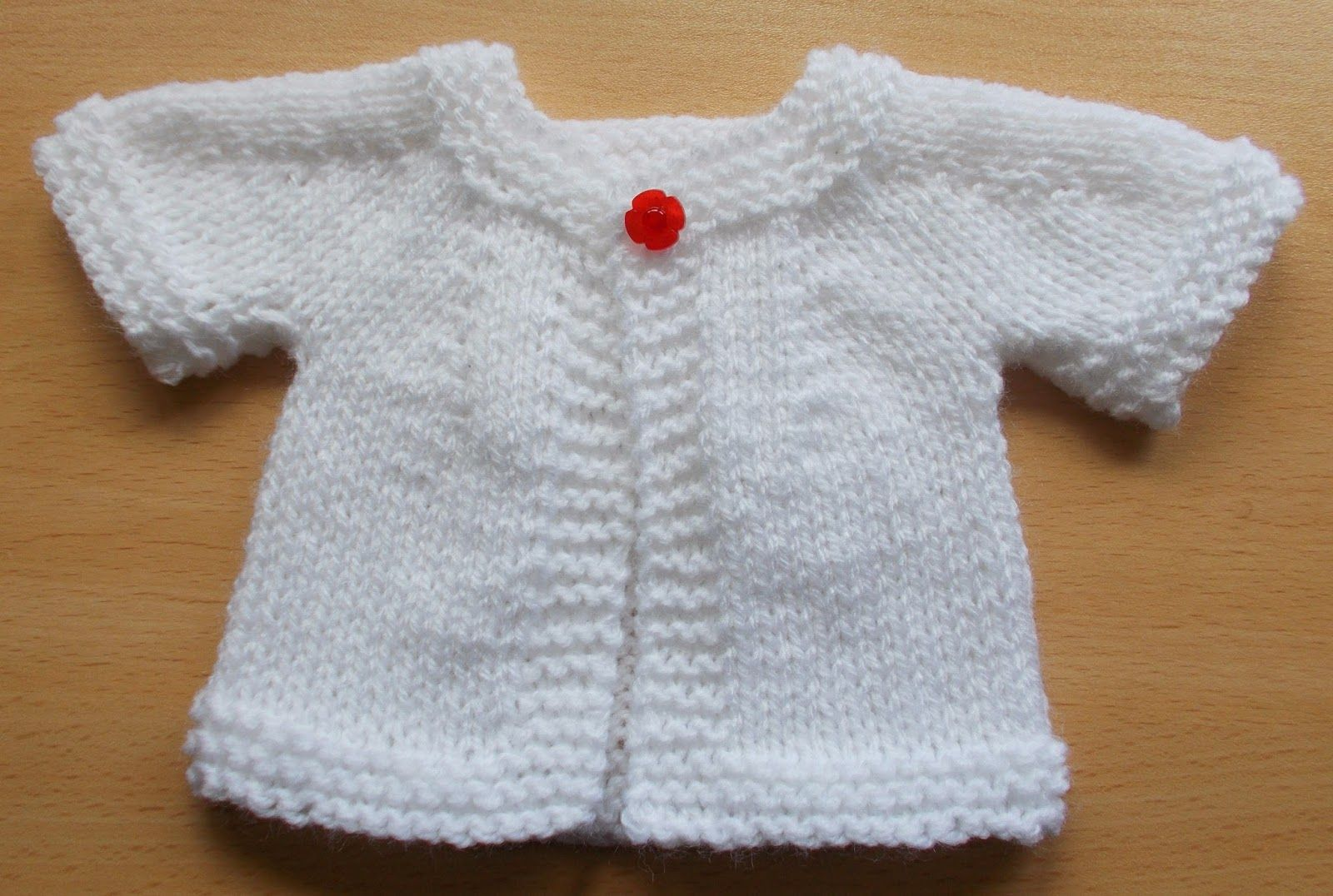 marianna\'s lazy daisy days: Cute Cardigan for a Teddy or Baby Doll ...