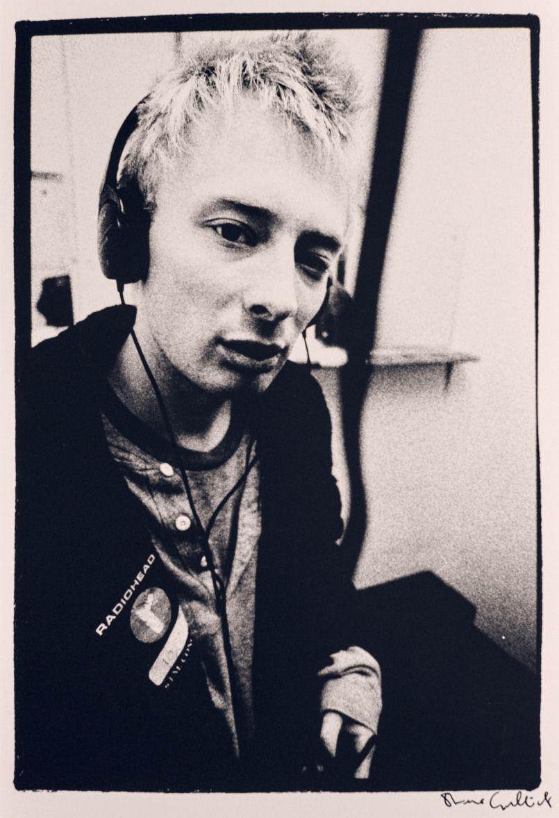 Thom Yorke Radiohead © Steve Gullick, 1995 in 2019