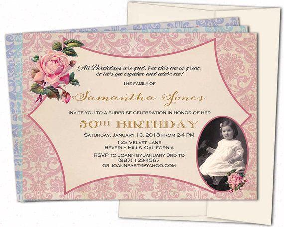 50th birthday invitation50th birthday invitation for women50th 50th birthday invitation50th birthday invitation for women50th birthday invites60th70th80th90th birthday invitations filmwisefo Gallery