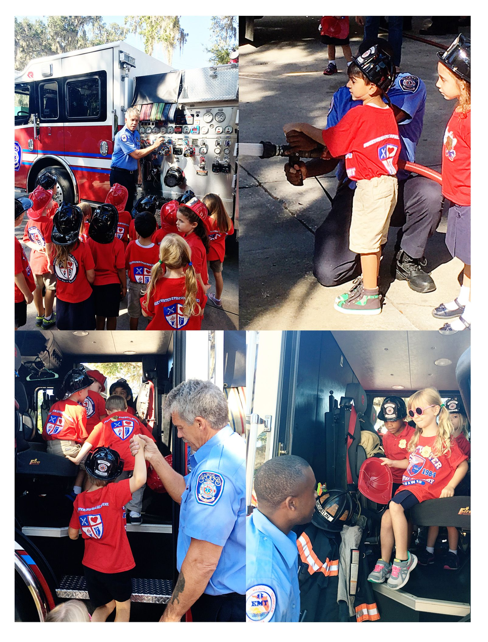 K4 Also Went On Their Field Trip Today To The Fire Station