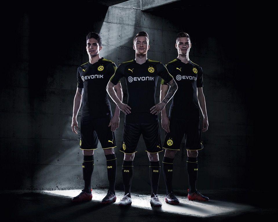 Camisas do Borussia Dortmund 2017-2018 Puma  453b17d7992a2