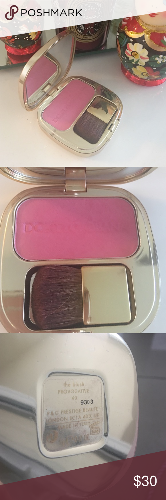 Dolce & Gabbana blush 40 provocative Blush in pink color 40 provocative. Almost no use Dolce & Gabbana Makeup Blush
