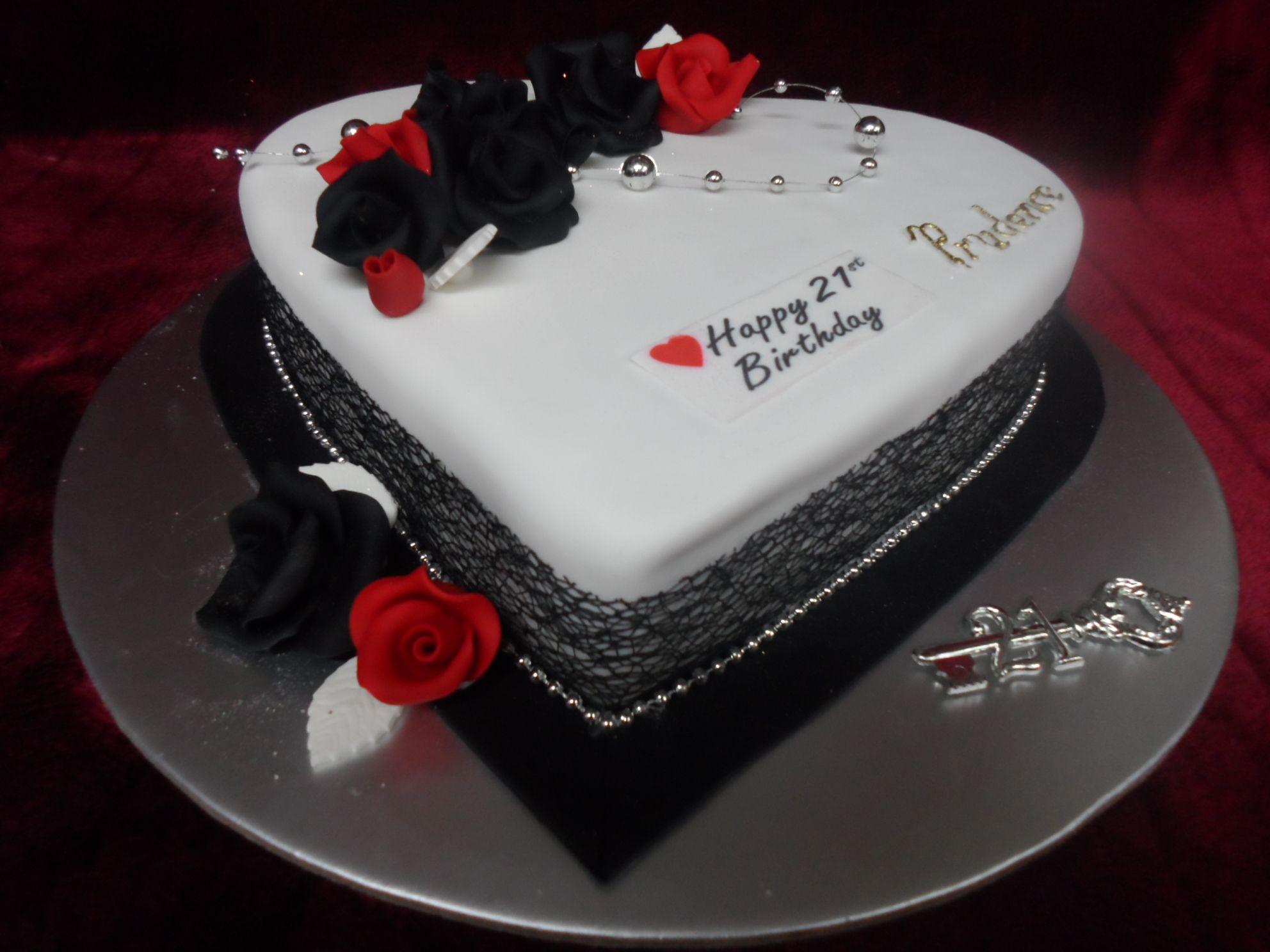 21st Birthday Cake Heart Shaped Frescofoods Email Fresco