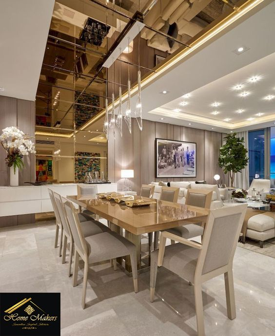 "15 High End Contemporary Dining Room Designs: ""Converting Your House Into A Dream Home""!! The High End"