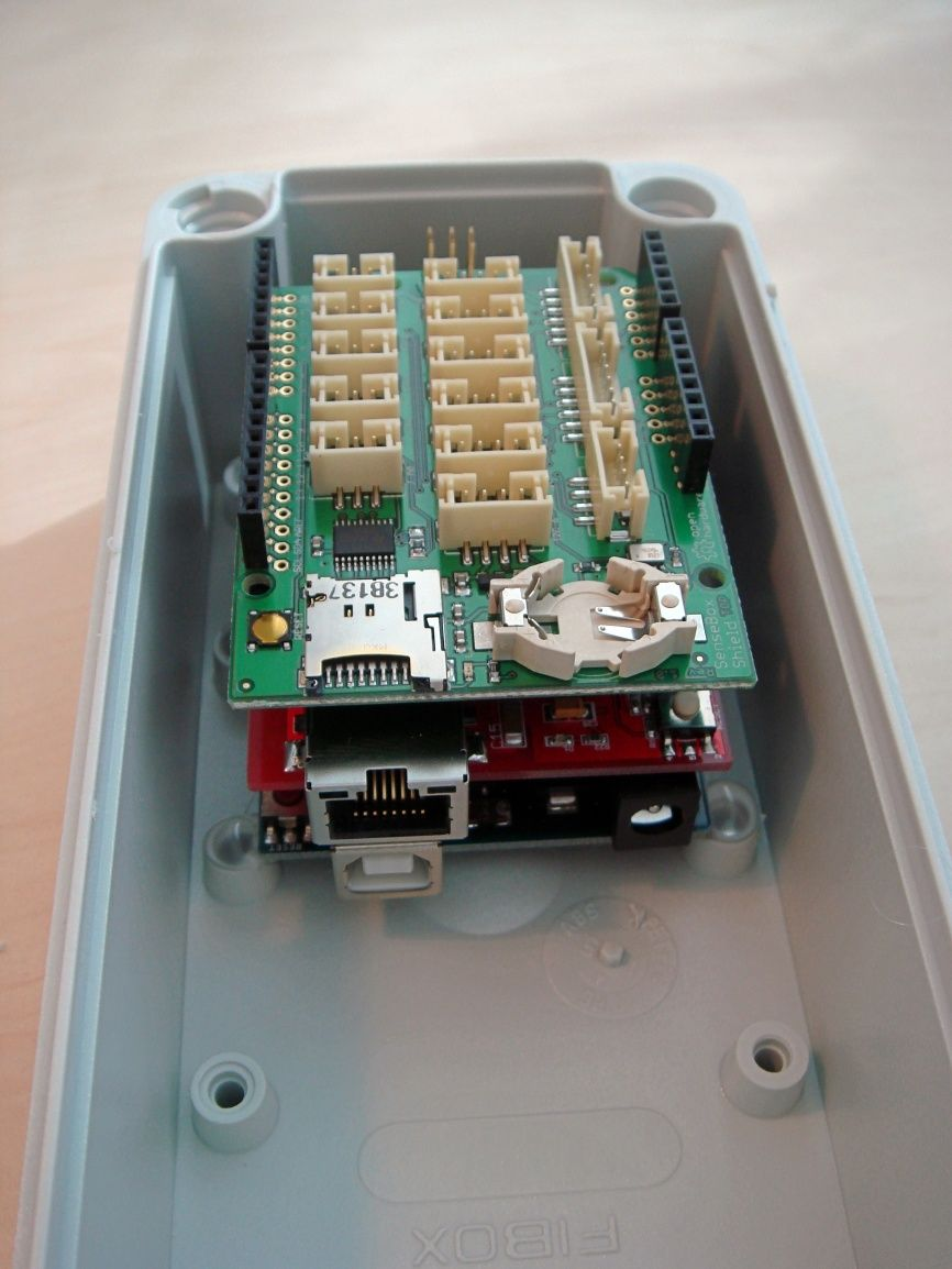 Sensebox Fibox Sensebox Home Tech Smart Home Home Arduino