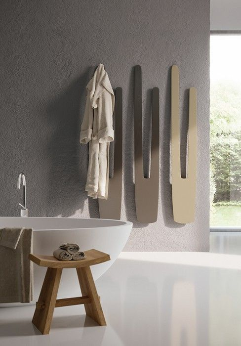 termosifoni verticali di design per bagno | A - Home - bathroom ...