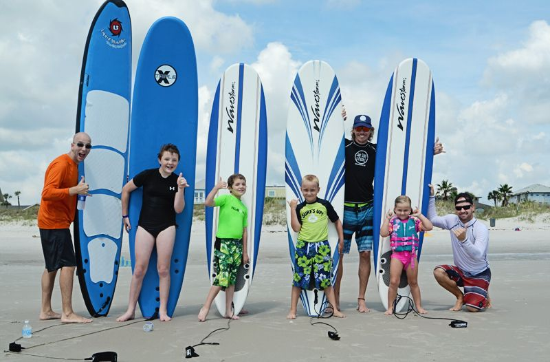 15 Places You Can Learn To Surf In Jacksonville Jacksonville Beach Moms Surfing Learn To Surf Surf Lesson