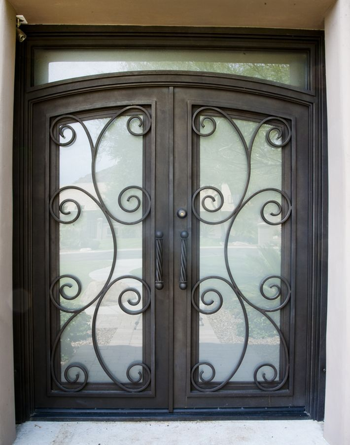 Enclosures features benefits doors iron and steel gate barcelona iron entry doors firstimpression planetlyrics Gallery