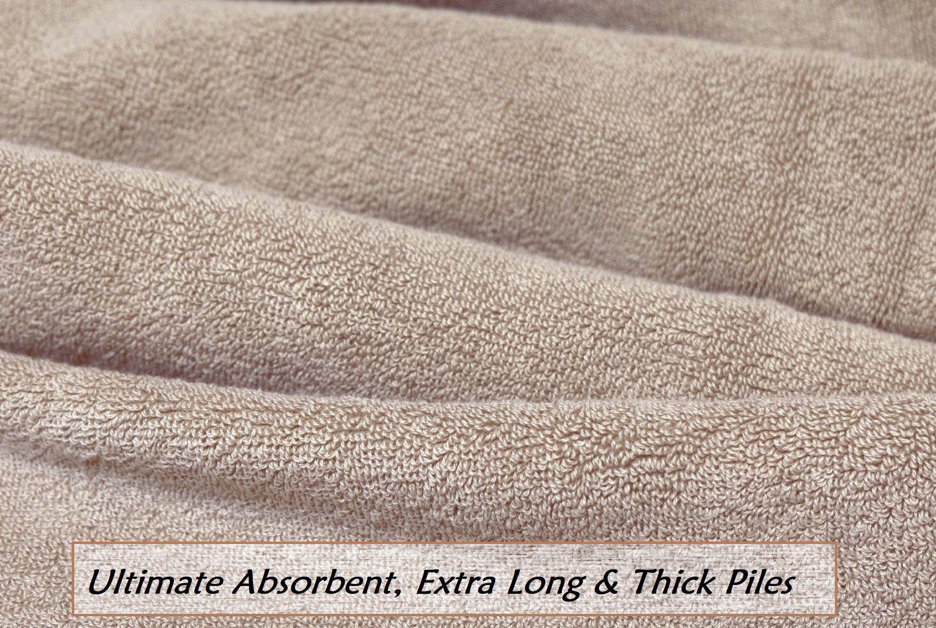 Lint Free Single Oversized Premium Turkish Towel Set 1 Extra Large