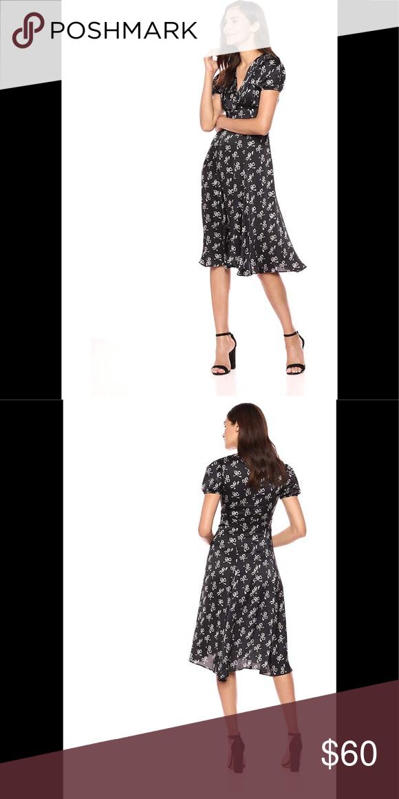 Betsey Johnson Womens Printed Maxi Dress