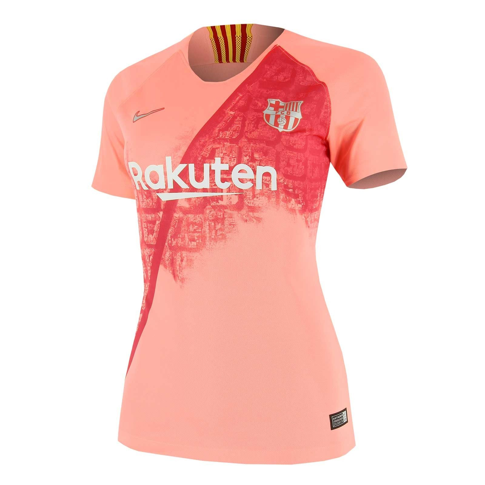 e173a44af0651 Camiseta Nike Barcelona 3a mujer 2018 2019 Stadium