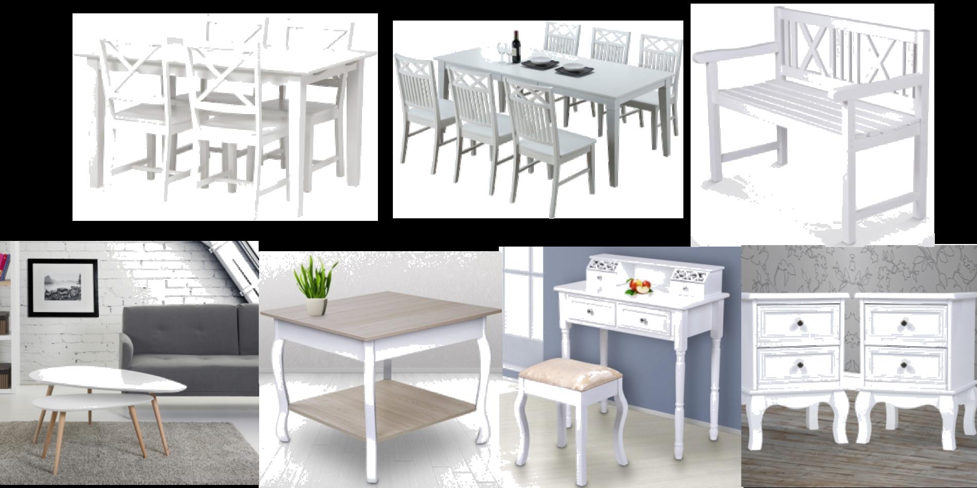 Möblera i vitt