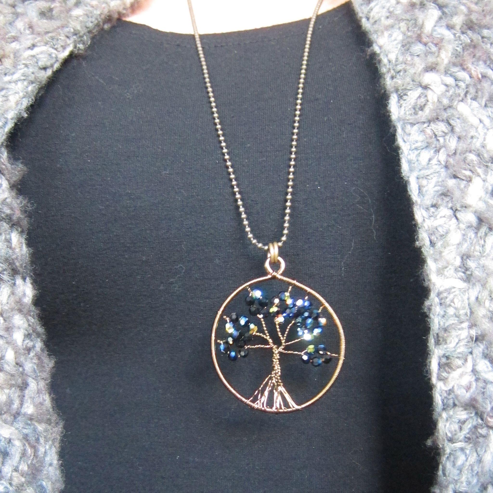 Intu Tree Of Life Handcrafted With Swarovski Elementsintujewelry