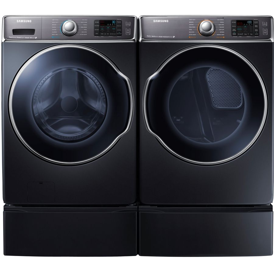 Shop Samsung 11 8 In X 30 In Onyx Laundry Pedestal With Storage