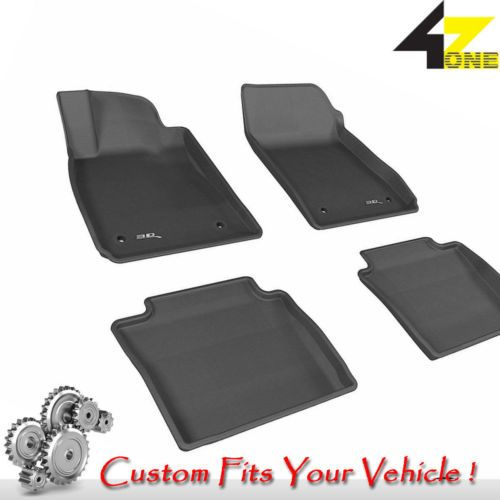 3D Fits 2014-2014 Chevrolet Impala Limited G3AC51709 Black Waterproof Front and