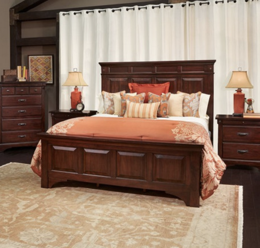 The Beautifully Crafted Lines In The Hidalgo King Bed From