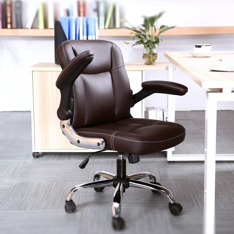 Myka s Ergonomic Leather Executive Office Chair High Back