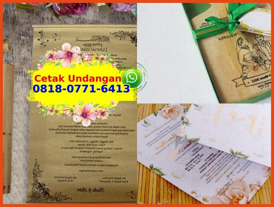 Undangan Nikah Murah Surabaya O818 O771 6413 Whatsapp Di 2020 Undangan Pernikahan Contoh Undangan Pernikahan Kata Kata Undangan Pernikahan
