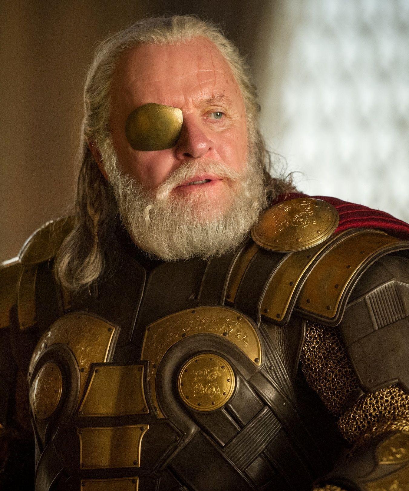 Odin played by Anthony...