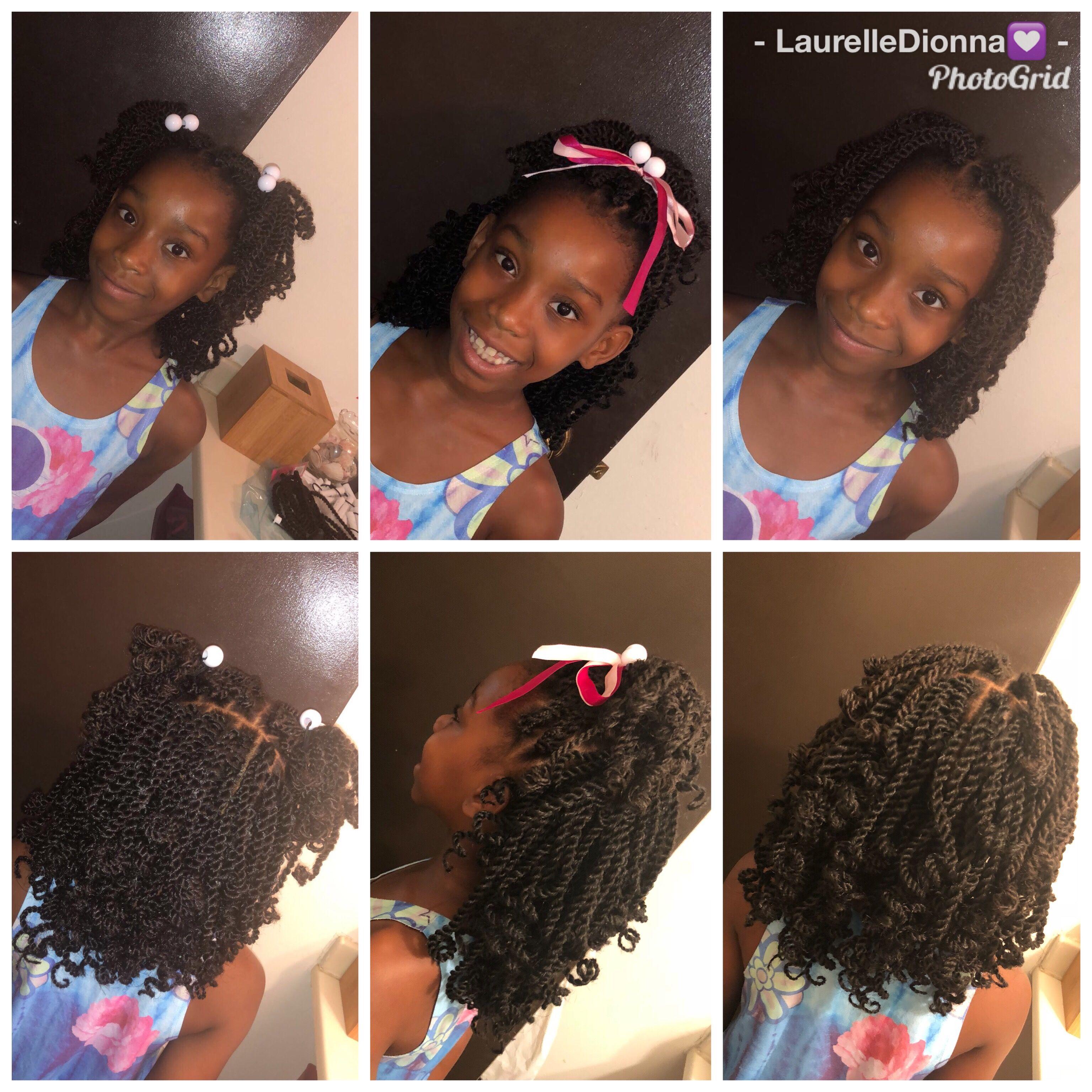 Kids Crochet Hairstyle