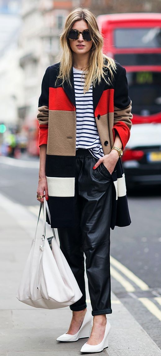 Great mix of stripes.
