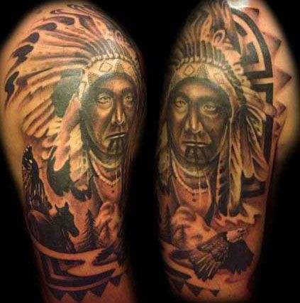 native american tattoos - Google Search | Tattoos | Native ...  native american...