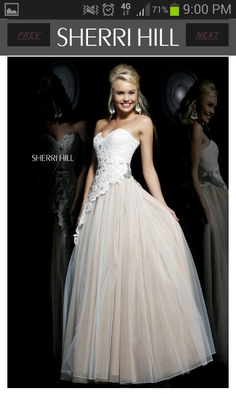 Sherri Hill dress 11128 (Ivory/Nude) - Browse Molly Browns Collection of  Prom, Party and Evening Dresses