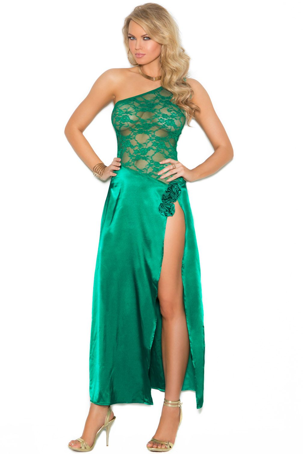 Shop sexy holiday lingerie like this Envious Love Gown at Lingerie ...