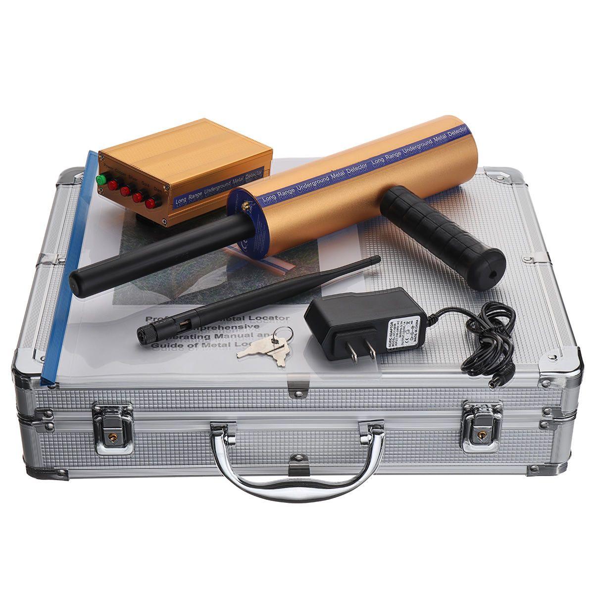 US$159 99] AKS Hand-held Metal Detector Locator with