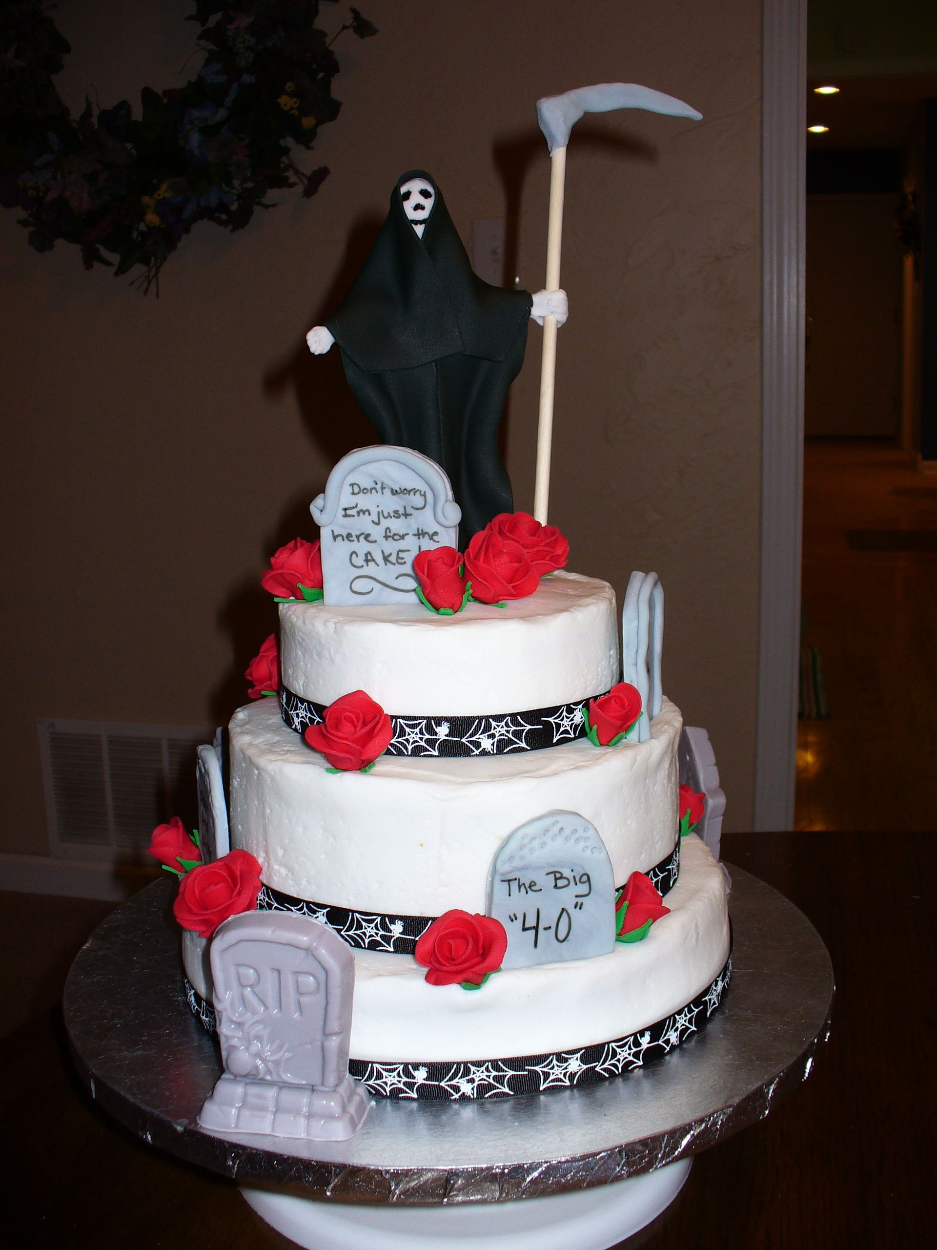 Grim Reaper Cake Cake Themed Cakes