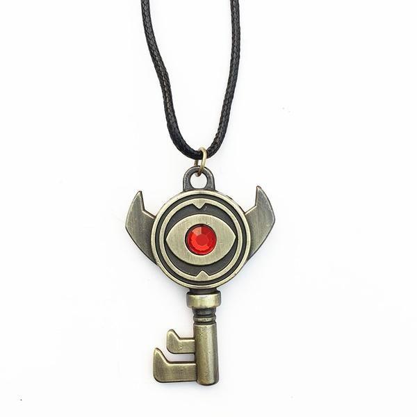 Oblivion Keyblade Black Metal Pendant Necklace Cosplay Necklace Game Yu-Gi-Oh