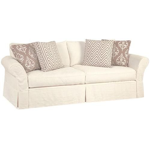 Alyssa Casual Sofa With Rolled Arms By Four Seasons