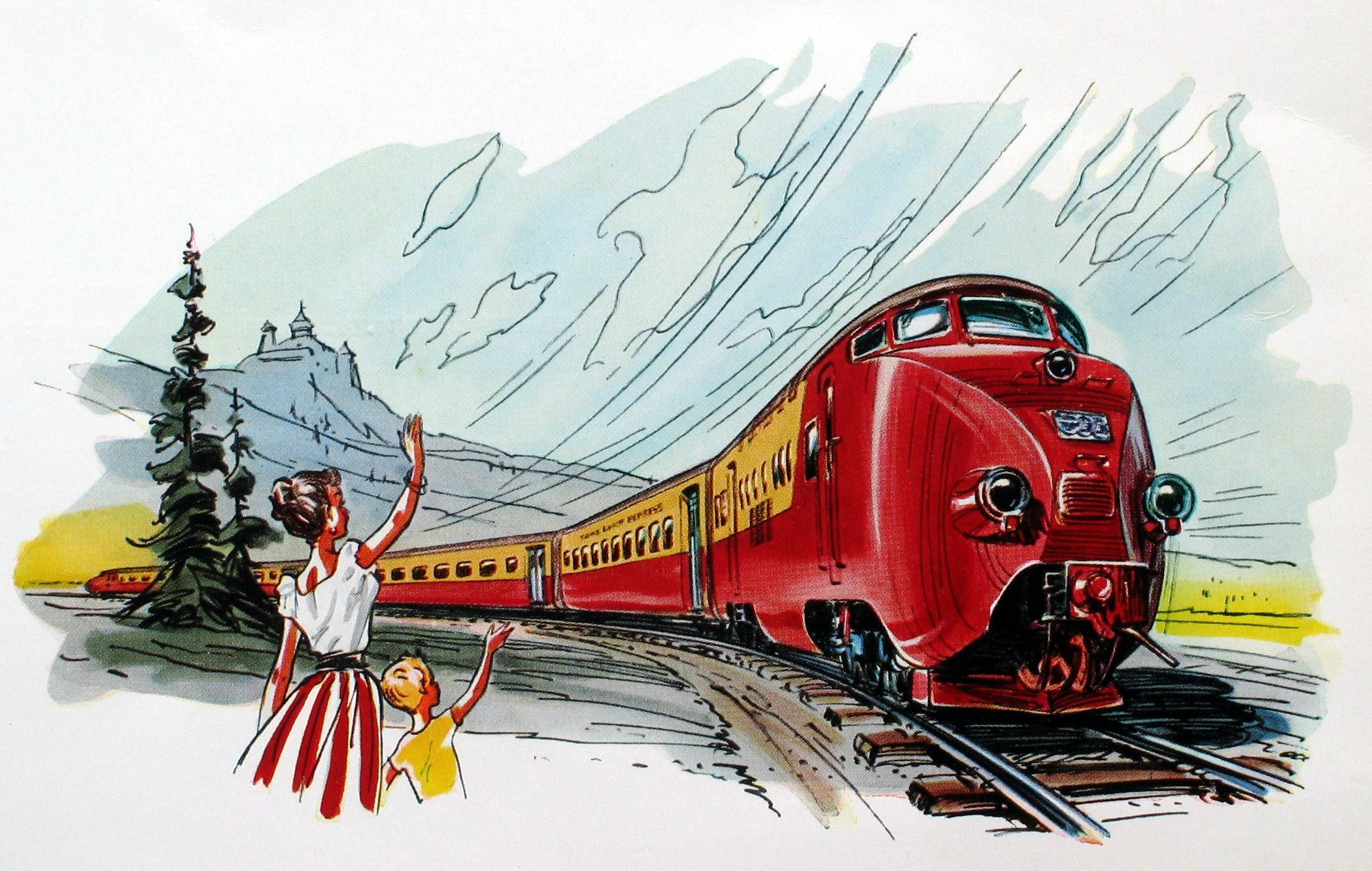 картинки моя семья железнодорожники что такое