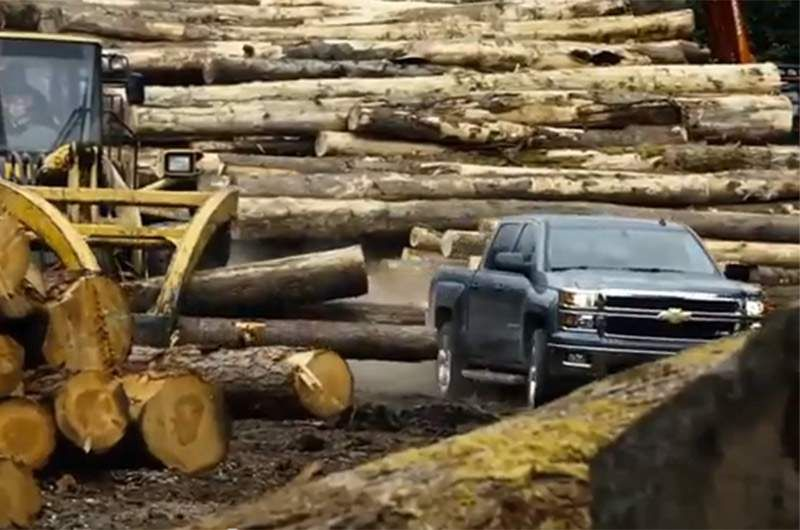 New Ad Campaign For Chevrolet Silverado Strong Crooned