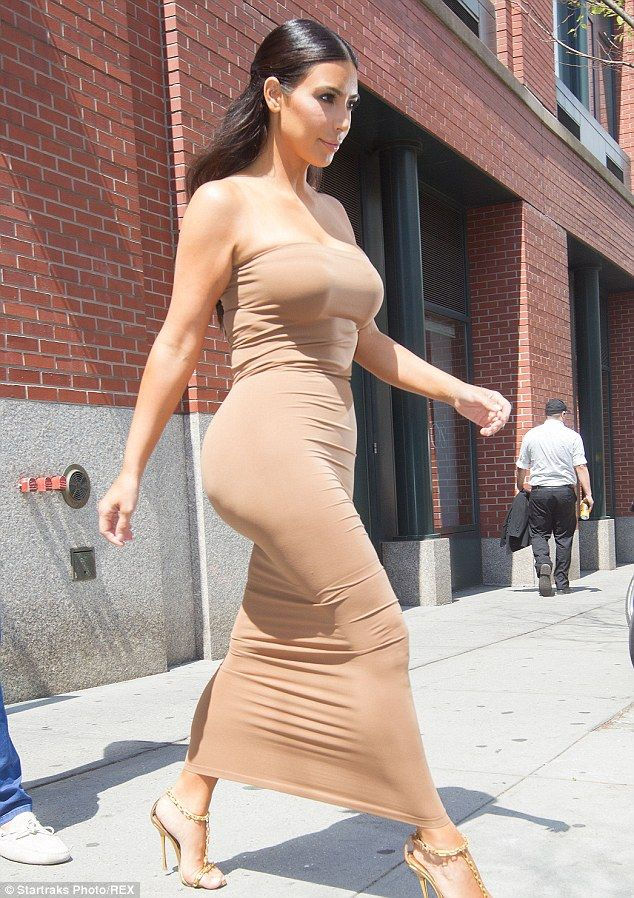 Kim Kardashian Just Wore the Naked Dress to End All Naked