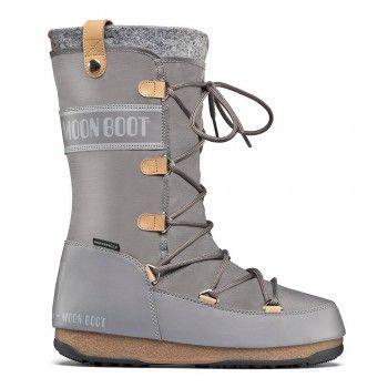 272ba4d7868646 Moon Boot by Tecnica W.E. Monaco Felt grau