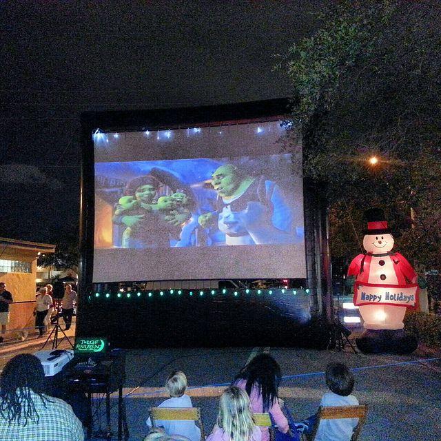 Winter Cinema Christmas Movie Night Movie Themed Party Movie Theme Birthday Party