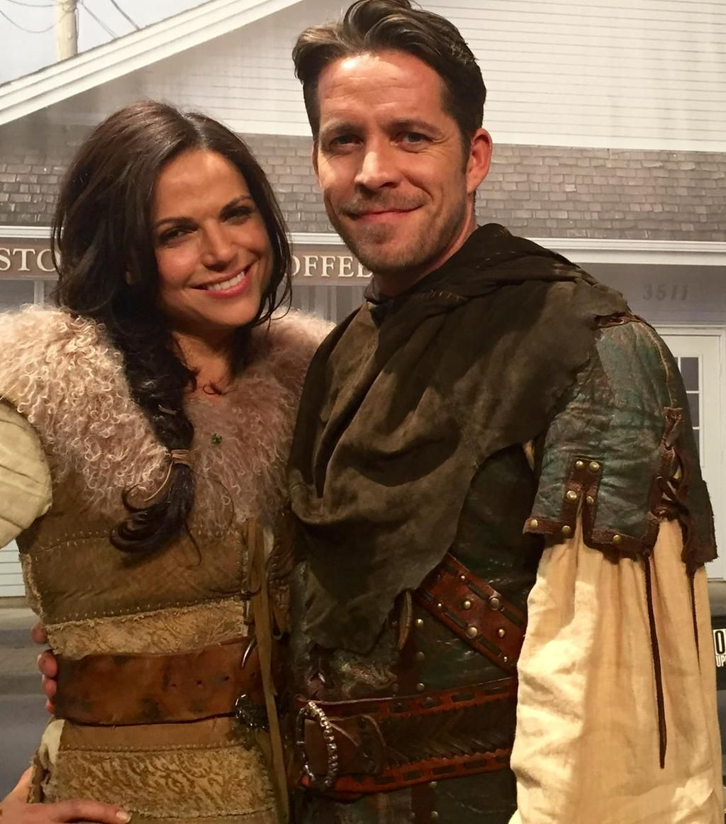 Sean Maguire  @sean_m_maguire - Even though we didn't hit our target for http://www.justgiving.com/georgemorgan/  here's an #outlawqueen pic 4 making such an effort.x