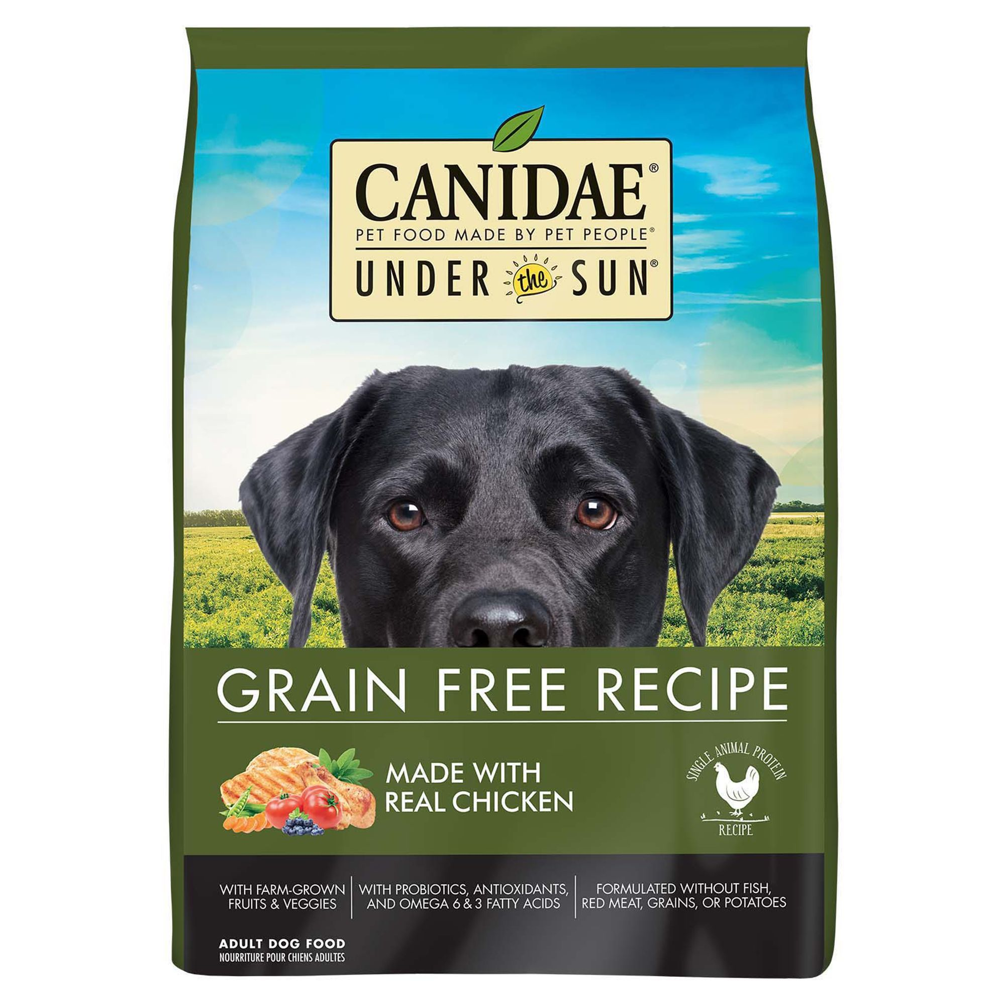 Canidae Under The Sun Dog Food Natural Grain Free Chicken Size