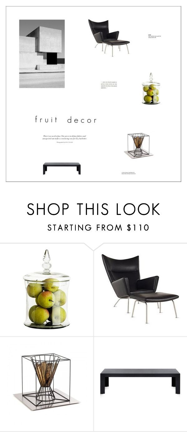 """""""Untitled #538"""" by zitanagy ❤ liked on Polyvore featuring interior, interiors, interior design, home, home decor, interior decorating, Eichholtz, Skargaarden, Kartell and fruitdecor"""