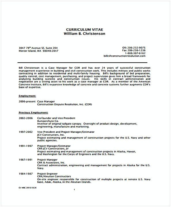 Office Manager Resume Example Construction Resume  Office Manager Resume Sample  In Needs For .