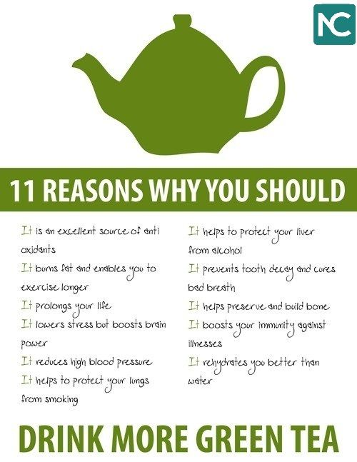 why we should drink more green tea?