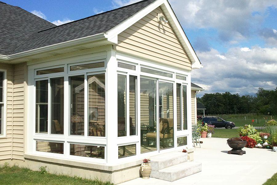 Enclosed Sunroom Porch   Google Search