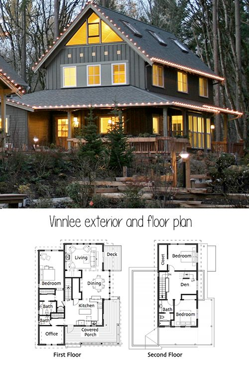 It S Not A Shock That I Love Small Houses I Ve Pretty Much Dedicated My Entire Blog To Them I M Also In The Pr New Model House Small House Plans House