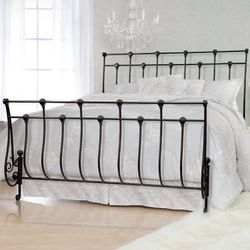 Grace Gothic Wrought Iron Bed Reviews Wayfair With Images