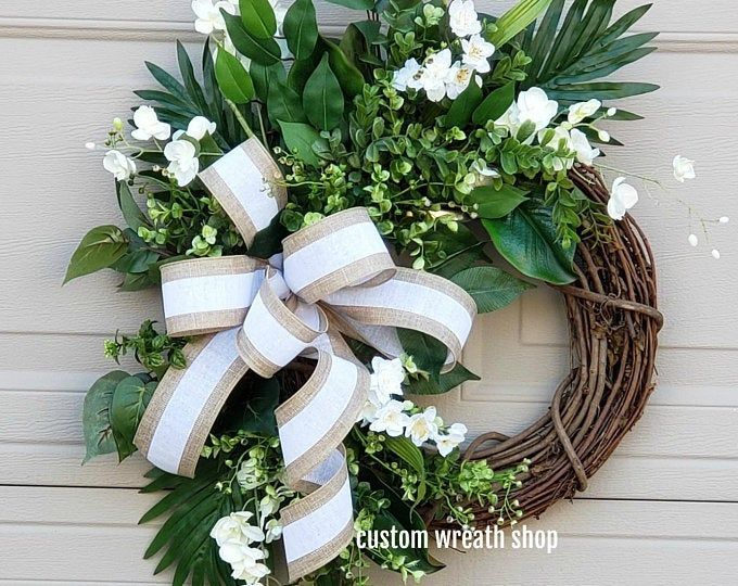 CLASSY CLASSIC Metal Monogram Door Wreath Monogram Door Hanger Front Door WREATHS Front CLASSY CLASSIC Metal Monogram Door Wreath Monogram Door Hanger Front Door WREATHS...